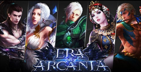 Era of Arcania is a New Mobile MMORPG