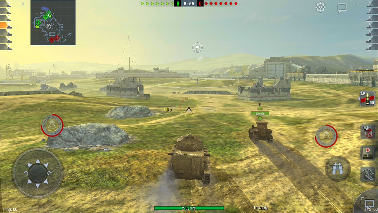 World of Tanks Blitz: Quick Review - Strategical Tank Battle Game