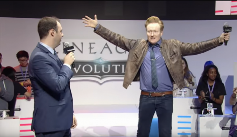 Conan O'Brien Promoted Lineage 2 Revolution at TwitchCon