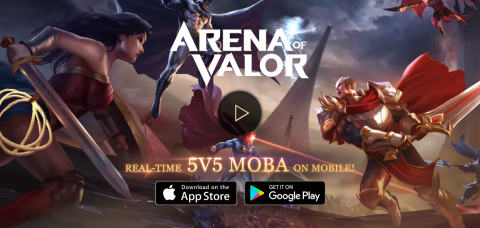 Garena has published a mobile MOBA titled Arena of Valor