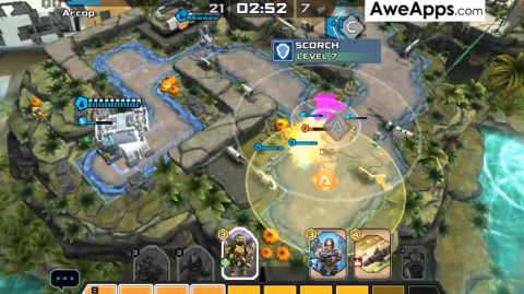 AweApps Clip: Titanfall Assault - How to save your units from being killed by a land mine