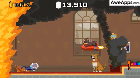 AweApps Clip: Crashy Cats - Escaping the Fire