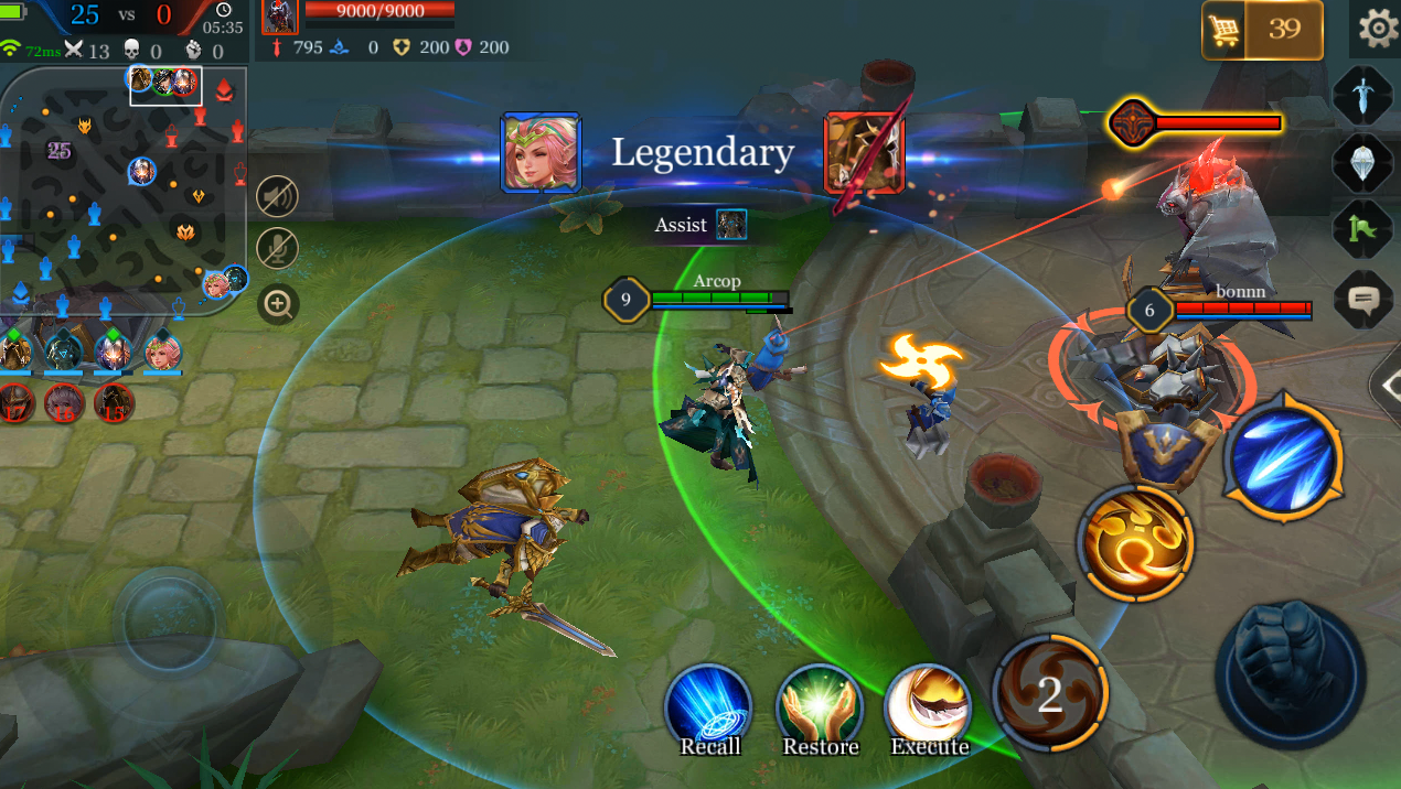 Arena of Valor Review - A familiar game on mobile