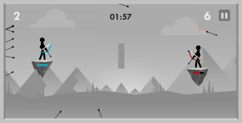 Stickman Archer Fight: Review - Simplistic and Short Archer Game