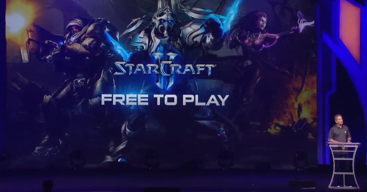 Starcraft 2 will offer its base game for free