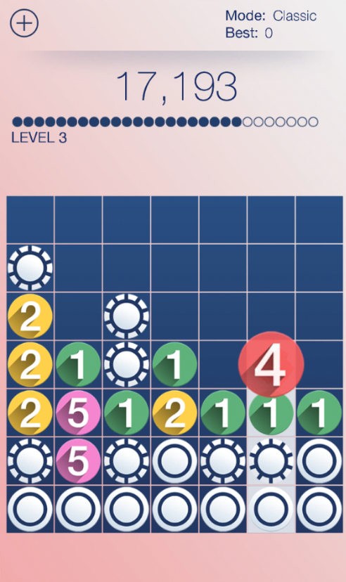 Drop7 Review - Numerical and Logical Puzzle Game