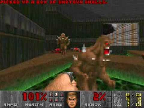 How many melee attacks does it take to kill every enemy in Doom?
