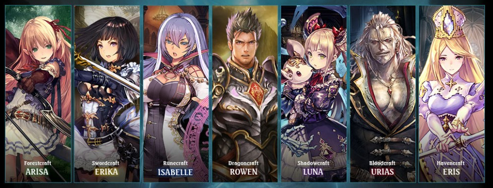 The best cards in Shadowverse per Class