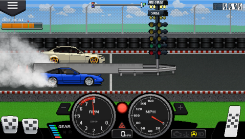 Pixel Car Racer: Review - Detailed 2D Car Racing
