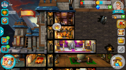 Hustle Castle: Review - Cartoonish Room Builder