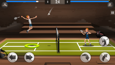 Badminton League: Review - Quick 2D Badminton Matches