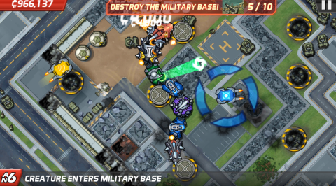 Colossatron Review - Casual Tower Offense
