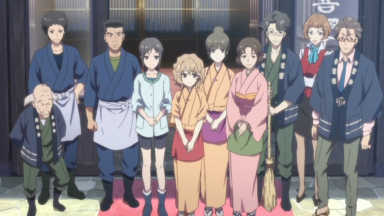 Watch Hanasaku Iroha for a Relaxing Peek into How an Onsen is Run