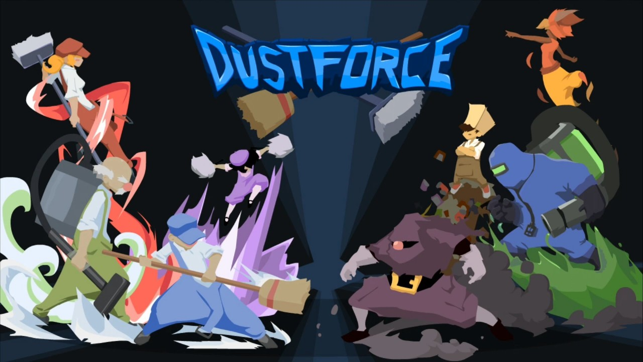 Dustforce is a game about speed