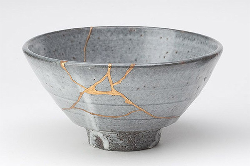 Kintsugi: The Art of Repairing Broken Ceramic With Gold