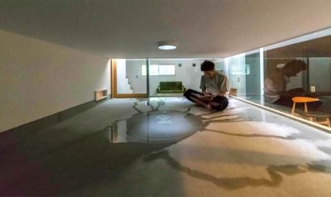 Amazing Japanese House Designed to Let In Rainwater