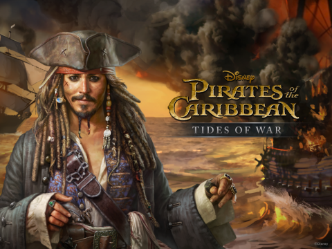 Mobile Game Based on Pirates of The Caribbean's Fifth Movie Out Now