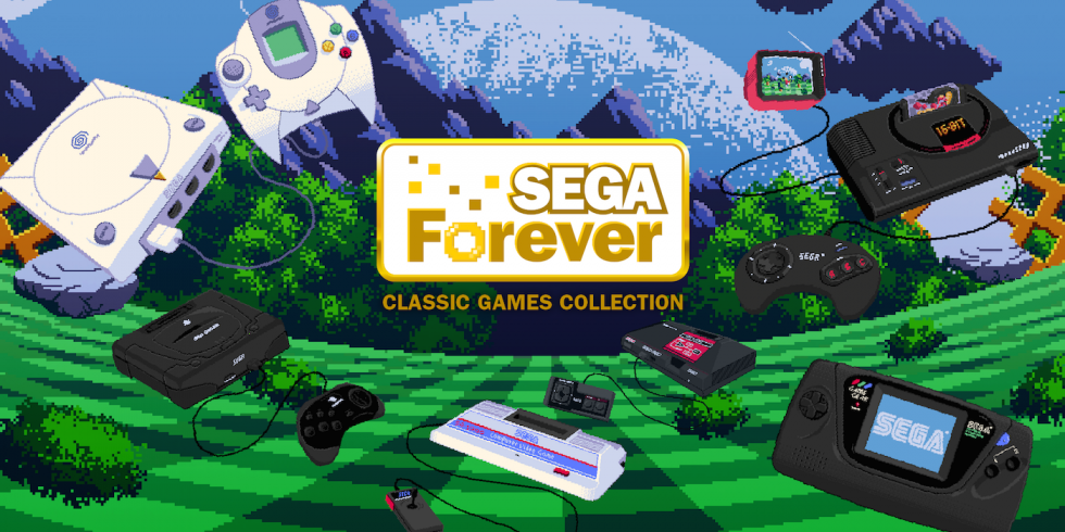 SEGA Forever Lets You Play All the Classic Sega Games on Your Mobile Phone