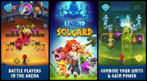 New Mobile RPG 'Legend of Solgard' Has Been Soft Launched by King