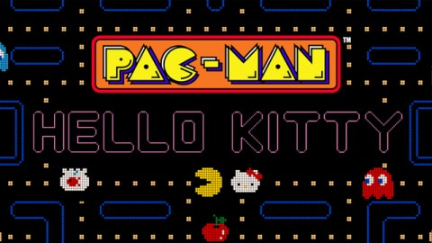 Pac-Man and Hello Kitty Join Forces in New Limited Edition Game