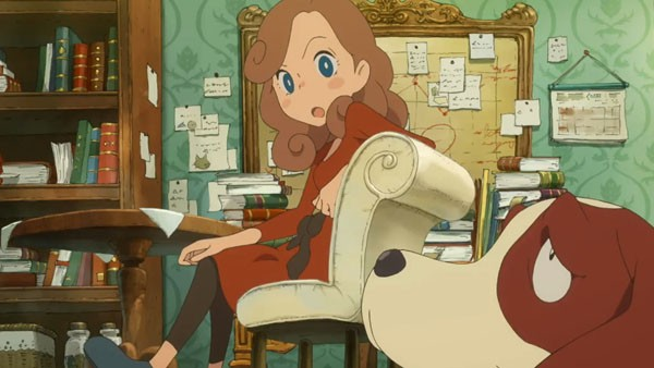 Professor Layton's Daughter Takes Over in New Mystery Game Release
