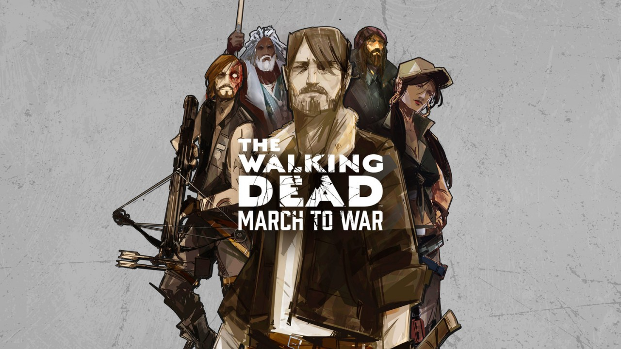 'The Walking Dead: March to War' Marching to Mobiles in Late Summer 2017
