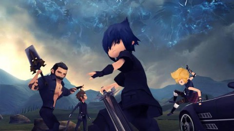 Final Fantasy XV Gets the 'Chibi' Treatment in New Mobile Game