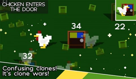 Indie Game 'Chicken Enters the Door' is Strange but Addictive