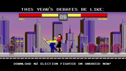 Genius New Zealander Creates Mobile Game to Get Youths to Vote
