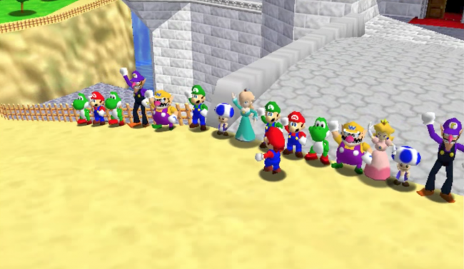 You can now play Super Mario 64 in Multiplayer!