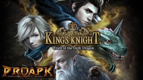 King's Knight: Wrath of the Dark Dragon is The Latest Final Fantasy Universe Game