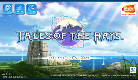 Tales of the Rays: Review