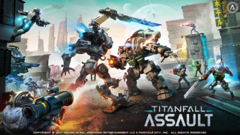 Titanfall: Assault Quick Review - Tug of war with cards and checkpoints