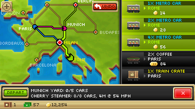 Pocket Trains Quick Review: Train Routes Manager