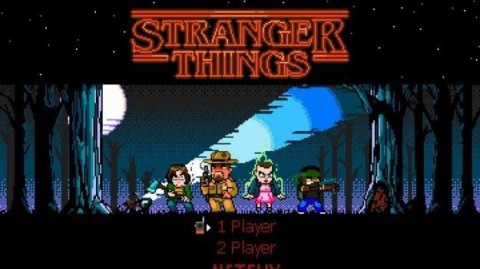 Free Retro Style Game Based on Stranger Things Has Just Launched