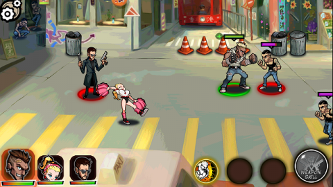 Brutal Street 2: Quick Review - Stylistic Hero RPG