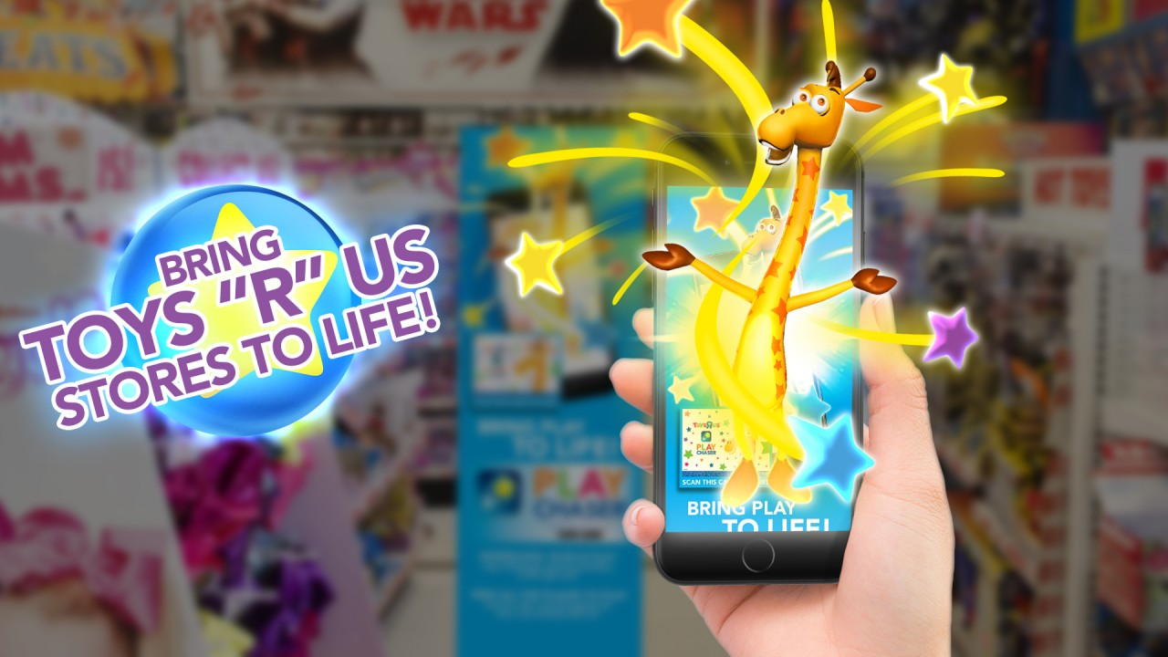 Toys 'R' Us Introduces Augmented Reality Game for Customers
