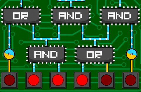 Circuit Scramble: Quick Review - Enjoyable puzzle involving logic gates