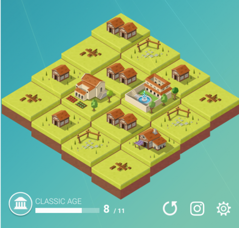 Age of 2048: Quick Review - 2048 with Buildings
