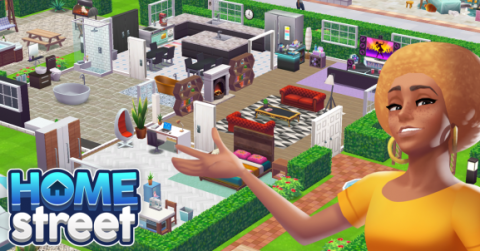 Lifestyle Simulator 'Home Street'  Launches for Mobile