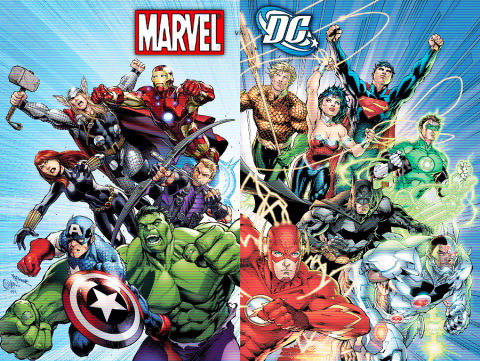 Marvel and DC: Making The World's Superheroes