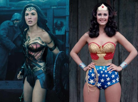 Wonder Woman Movies Through the Ages